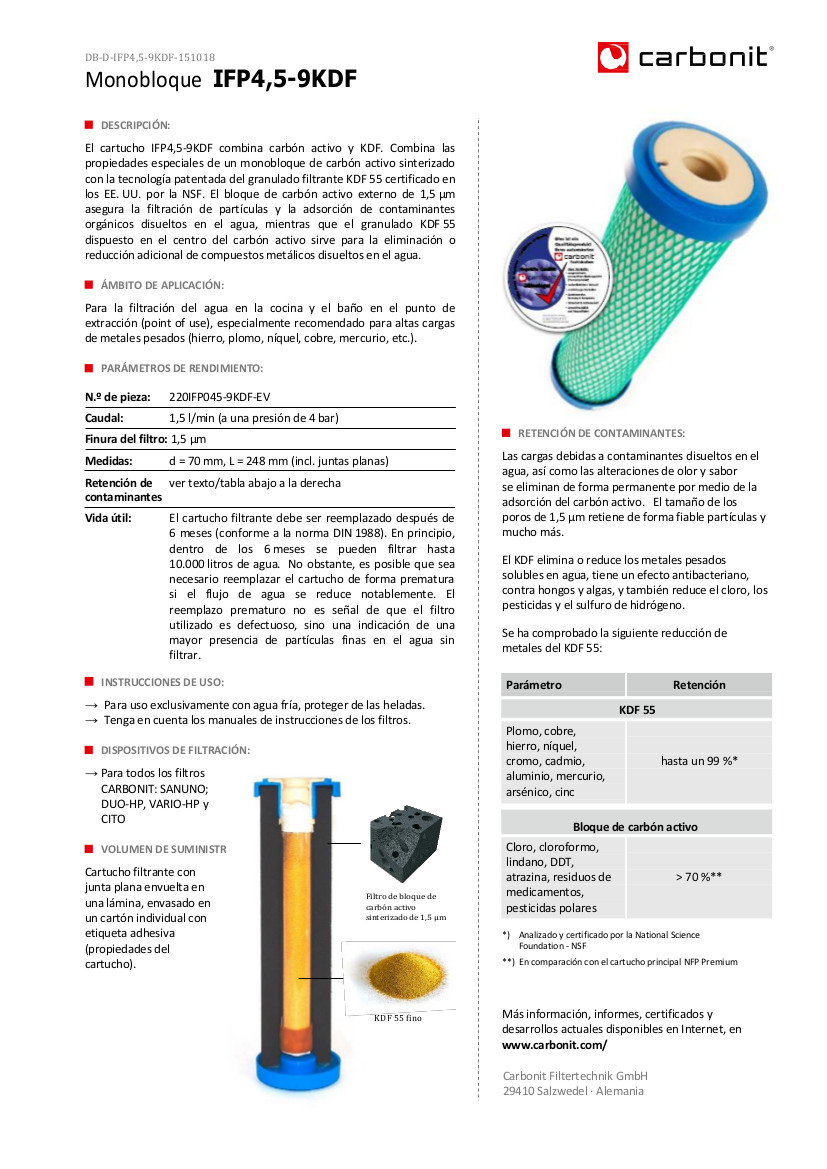 Filtro-de-agua-cartucho-IFP-KDF-Carbonit