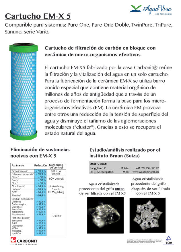 filtro-de-agua-cartucho-EMX-5-Carbonit-hoja-PQ