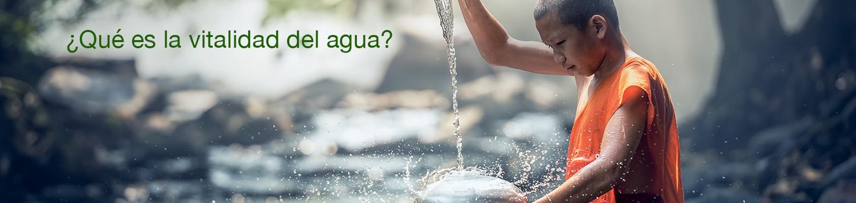Qué es la vitalidad del agua